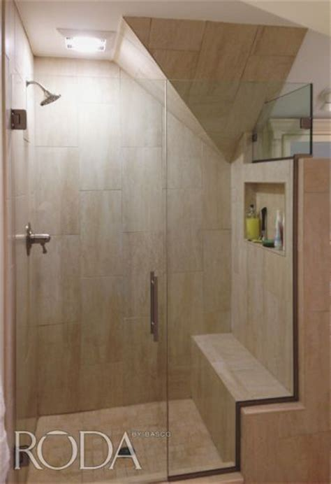 Roda By Basco Dresden Collection Door Panel Featuring Roda Shower Door