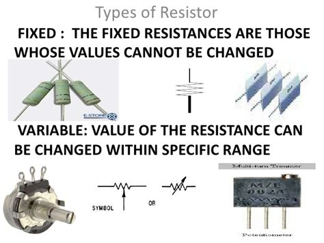 fixed value resistor function introduction to electronics