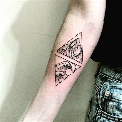 geometric tattoo manila best 25 geometric mountain tattoo ideas on pinterest