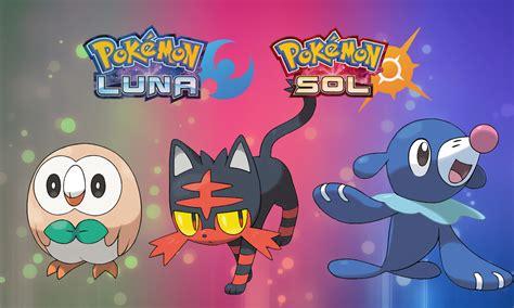 imagenes de pokemon sol y luna iniciales 191 se filtraron las evoluciones finales de los iniciales de