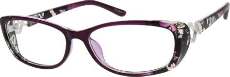 purple plastic frame 1211 zenni optical eyeglasses