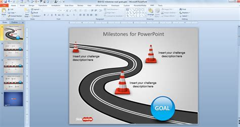 milestone template powerpoint best photos of powerpoint milestone template chart gantt