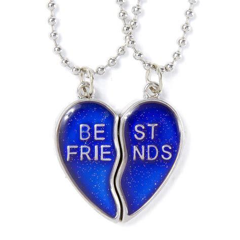 mood necklaces colors best friends mood pendant necklaces s us