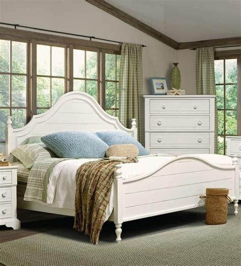 beach style beds cottage grove queen poster bed vaughan