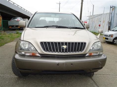 toyota harrier 2000 used toyota harrier g pkg suv 2000 from japan export import