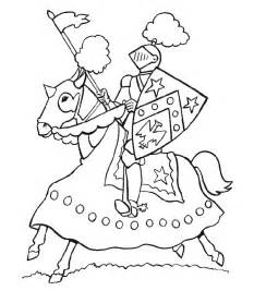Knights Coloring Pages  AZ sketch template