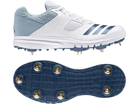 buy the adidas howzatt spike cricket shoes 2019 next day delivery and 0 finance available