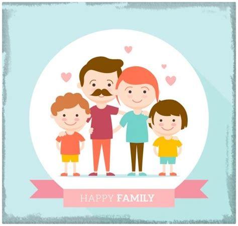 imagenes vectores familia imagenes animadas de familias felices imagenes de familia