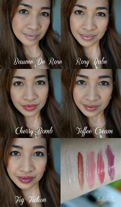 by terry rose de rose swatches shameless fripperies by terry baume de rose set rose balm tinted collection