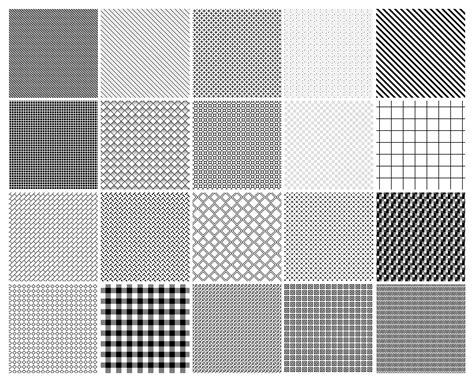 create hatch pattern in photoshop the free download includes 20 repeatable patterns in pat
