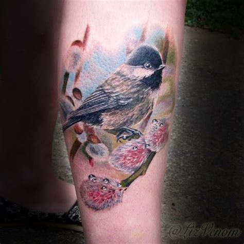 henna tattoos edmonton alberta beautiful realistic chickadee by australian realism