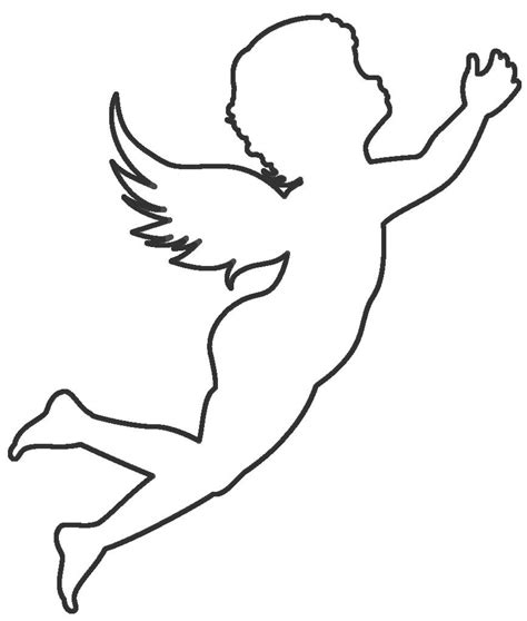 angel outline coloring page angel outline coloring pages coloring pages