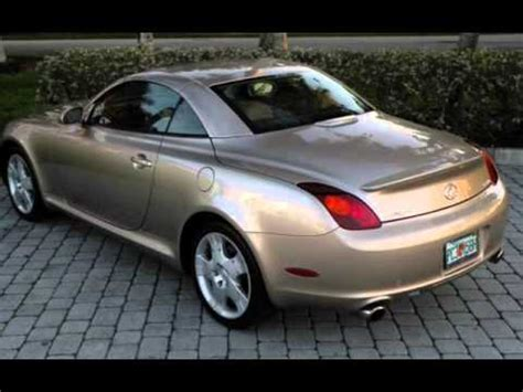 lexus sc430 gold 2005 lexus sc 430 convertible ft myers fl for sale in fort
