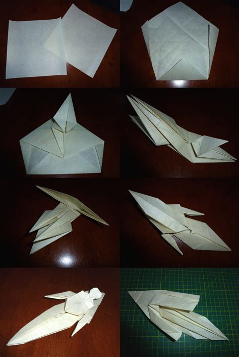 rude origami 503 and setting the crease