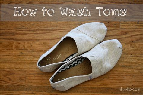 washing shoes how to clean toms tired of washing your toms easy
