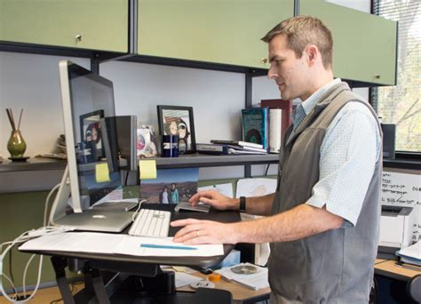 Standing Desk Research by 11 30 15 Oklahoma Nursing Times