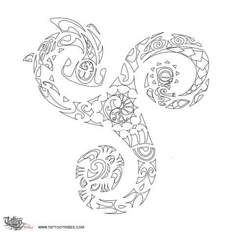 tribes lettere of triskell triathlon custom