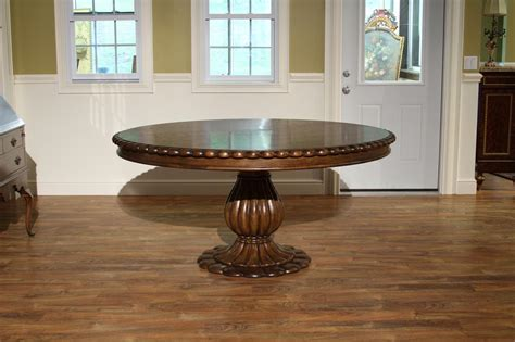 pedestal oak table tropical 66 inch round oak dining table havelock table