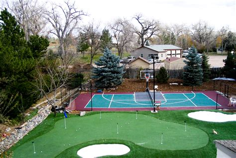 building a backyard basketball court the dangers of a diy basketball court sport court