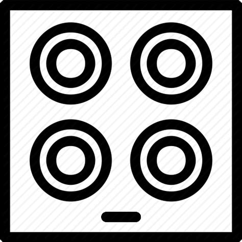 Appliances, cook, cooking, hob, kitchen icon   Icon search