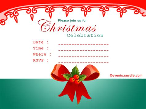 christmas invitation cards festival   world