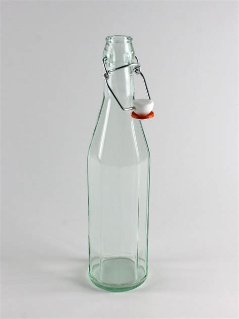 cheap swing top bottles glass drinking bottles swing top