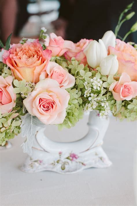 310 best Peach Wedding Flowers images on Pinterest