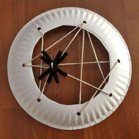 spider web craft preschool sewing spider web craft