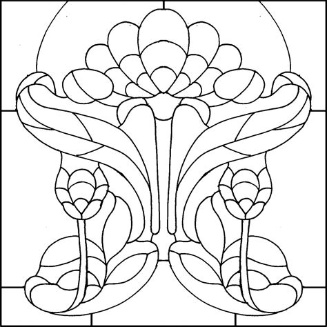 stained glass coloring book designs stained glass coloring book 20292