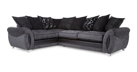 dfs corner couch dfs corner sofas genesis left hand facing 2 seater pillow