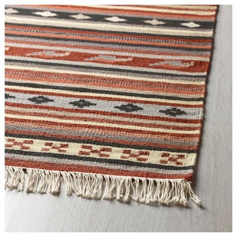 ikea rugs kattrup rug flatwoven handmade rust 170x240 cm ikea