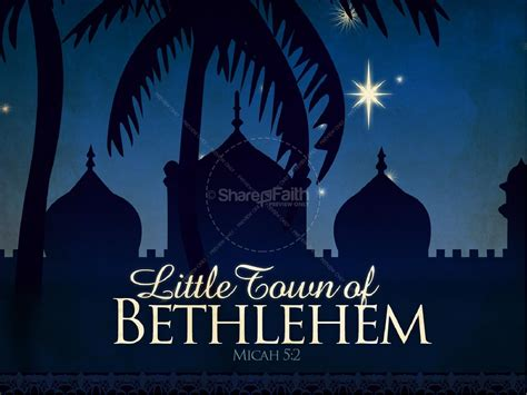 Home Designer Software Reviews oh little town of bethlehem powerpoint template