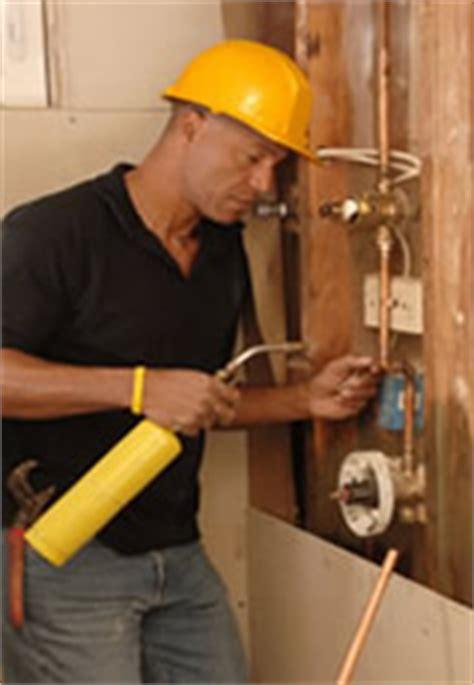 plumbers versus plumbing contractors what s the difference