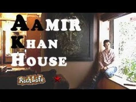 aamir khan house interior aamir khan house in bandra inside video aamir khan house in mumbai inside video youtube