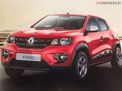 renault kwid specification renault kwid 1 0l specifications revealed ahead of launch
