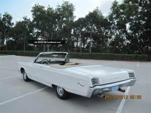 1967 Chrysler Newport 1967 Chrysler Newport Convertible Completely Florida Car