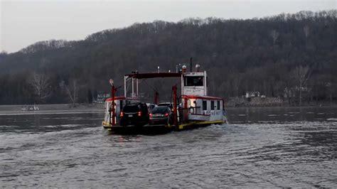 ferry boat kentucky anderson ferry constance kentucky cincinnati ohio