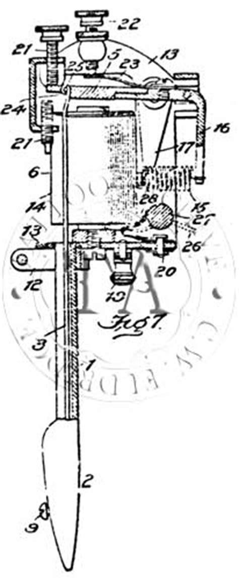 history of tattoo machines tattoo machines