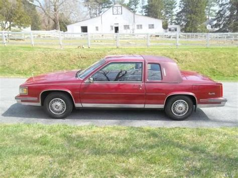 missoula cadillac tires buy used 1989 cadillac base coupe 2 door 4 5l in