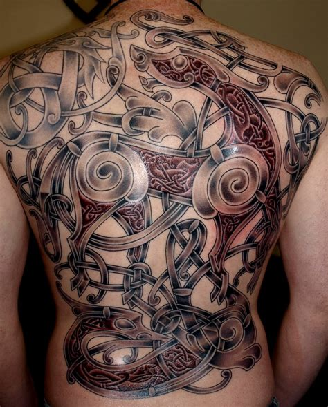celtic back tattoo designs viking tattoos designs ideas and meaning tattoos for you