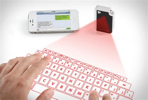 Proyektor Keyboard Keychain Projection Keyboard