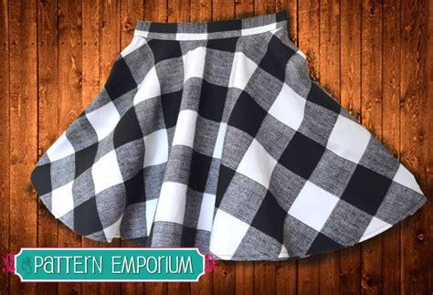 pattern emporium shop ladies skater skirt sewing pattern pattern emporium