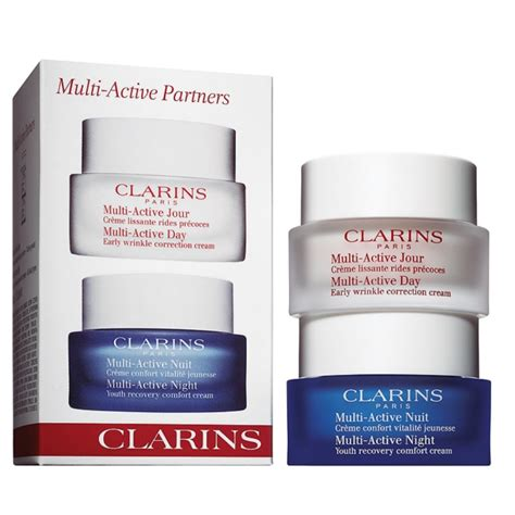 Clarins Multi Active clarins multi active partners sets