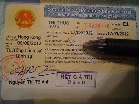 how to get a vietnam visa in hong kong