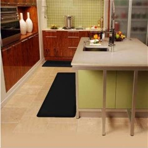 black kitchen rugs