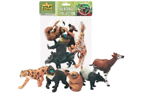 Online Home Decor Catalog by Polybag Of Rainforest Figurines Animal Toys