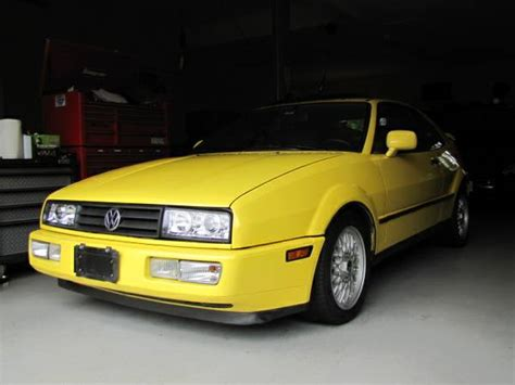 volkswagen corrado supercharged low miles 1991 vw corrado g60 supercharger