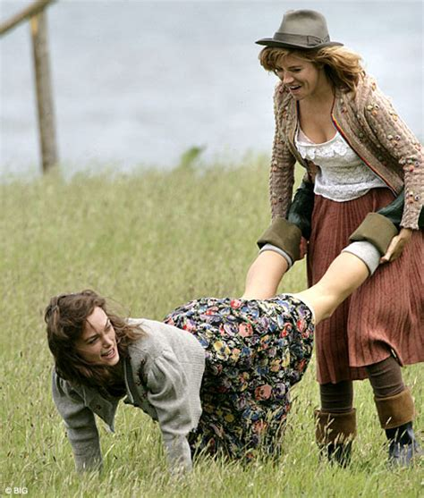 Keira Knightley Miller Frolick In Wales by Hey Big Suspenders Gets To Grips With Saucy New