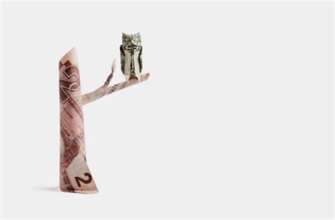 Dollar Bill Tree Frog By Origamikuenstler On Deviantart - one dollar horned owl by orudorumagi11 on deviantart