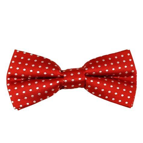 Polka Dot Bow Tie white polka dot boys bow tie from ties planet uk